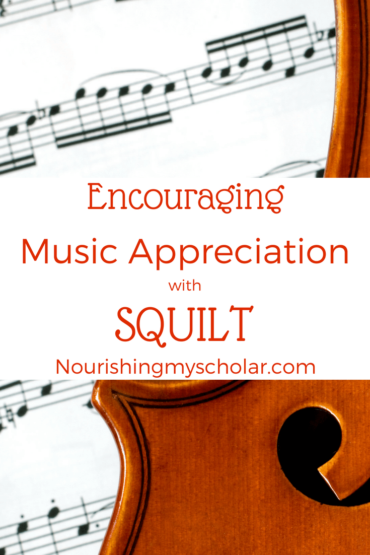 Encouraging Music Appreciation with SQUILT