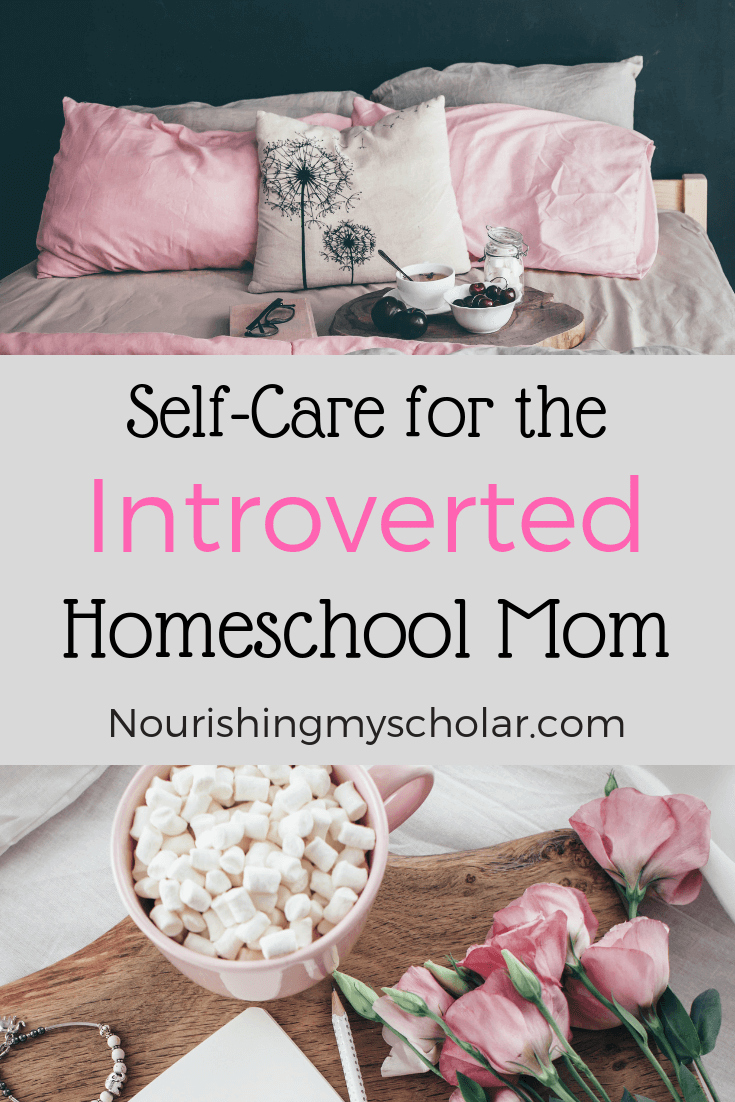 Self-Care for the Introverted Homeschool Mom