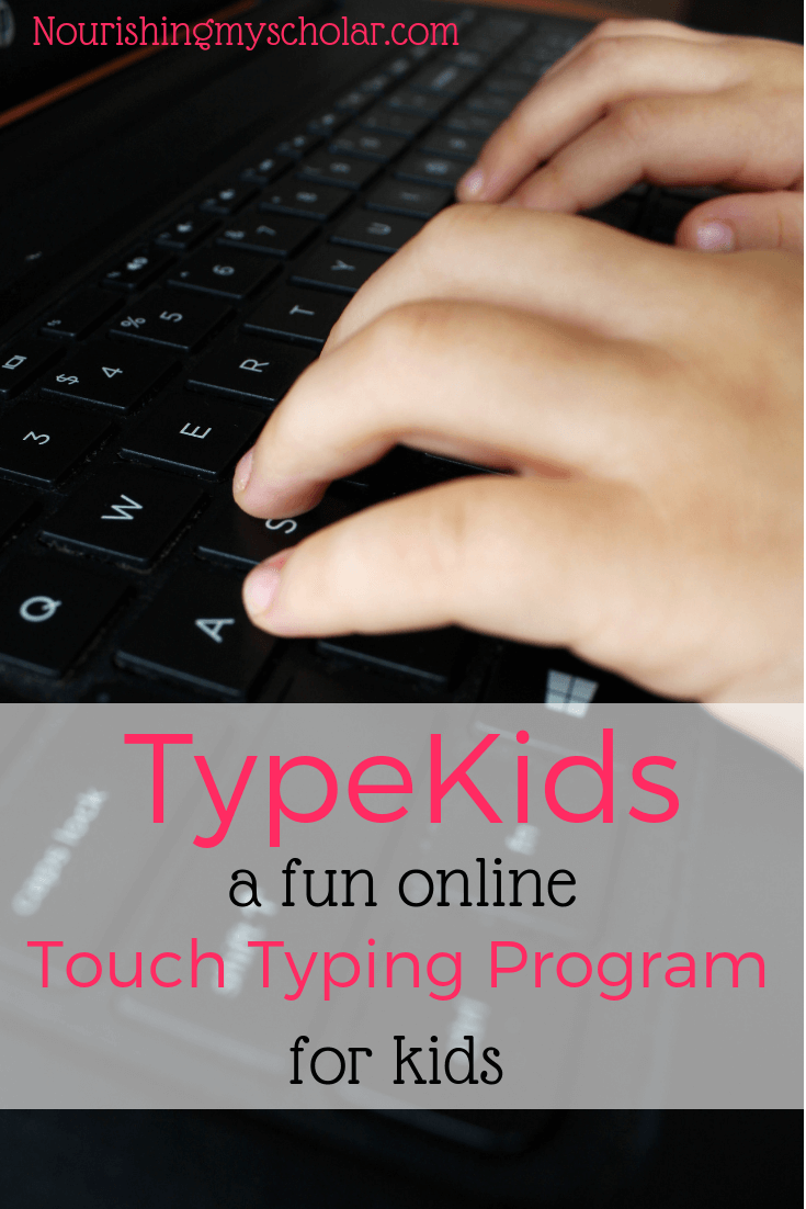 TypeKids : A Fun Online Touch Typing Program for Kids - A Review of TypeKids. Are you looking for a fun typing program for kids? It's never too early to teach your kiddos to type. Now, you can give your children typing lessons with corresponding typing games they will love! #kids #homeschool #homeschooling #typing #typinggames  #typinglessons