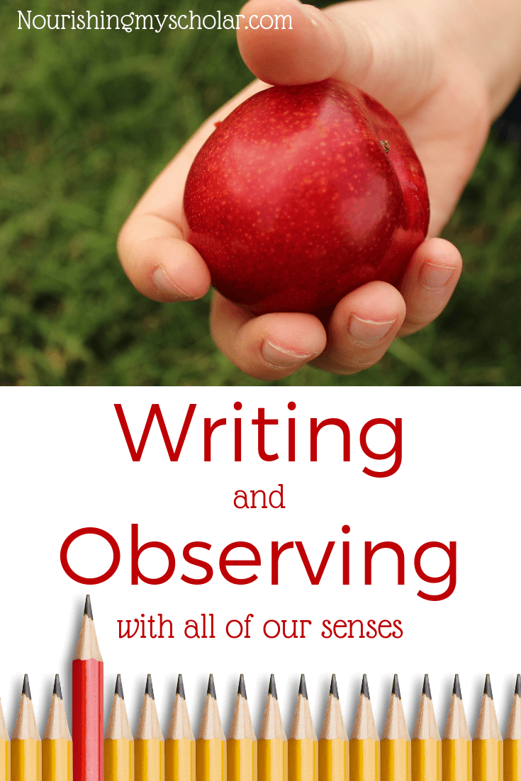 Writing and Observing with all of Our Senses