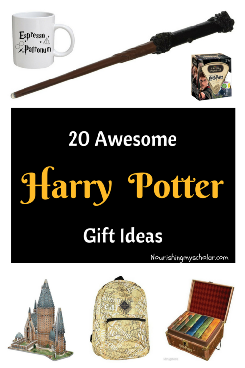 20 Awesome Harry Potter Gift Ideas: Here are over 20 Harry Potter gift ideas that the muggles and wizards in your life are sure to love! They are simply magical!