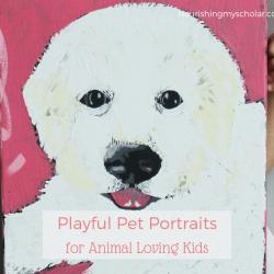 Playful Pet Portraits for Animal Loving Kids
