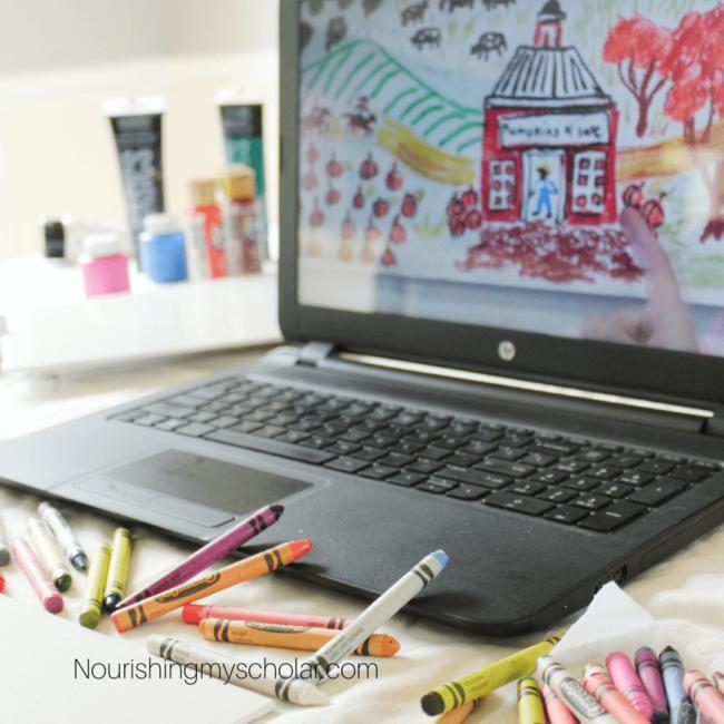 Online Art Curriculum for Your Homeschool