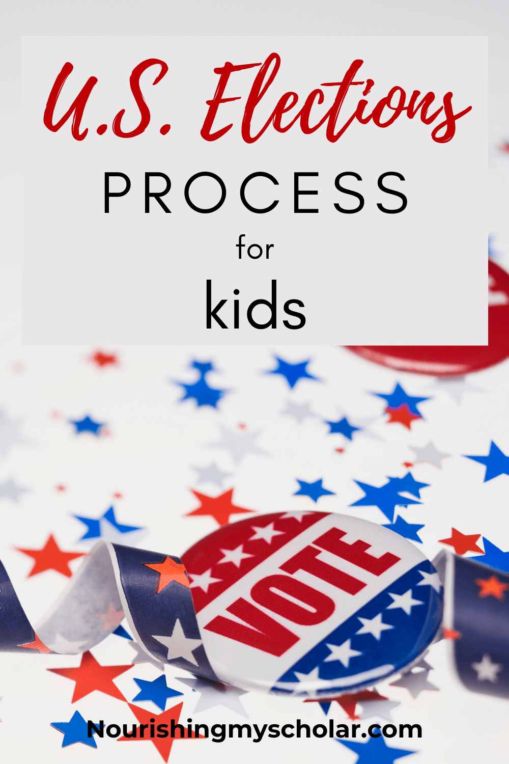 U.S. Elections Process for Kids: Are you looking to teach your kid's about the U.S. elections process this year? Voting is one of the most important things we can do as United States citizens. But do you wonder how to explain what an election is and how it works to your child? What about how important elections are for our country? #election #voting #electionprocess #electionbooks #electionbooksforkids #electionlappak #electionlapbook #electionsforkids #unitedstateselectionprocess #uselectionslapbook