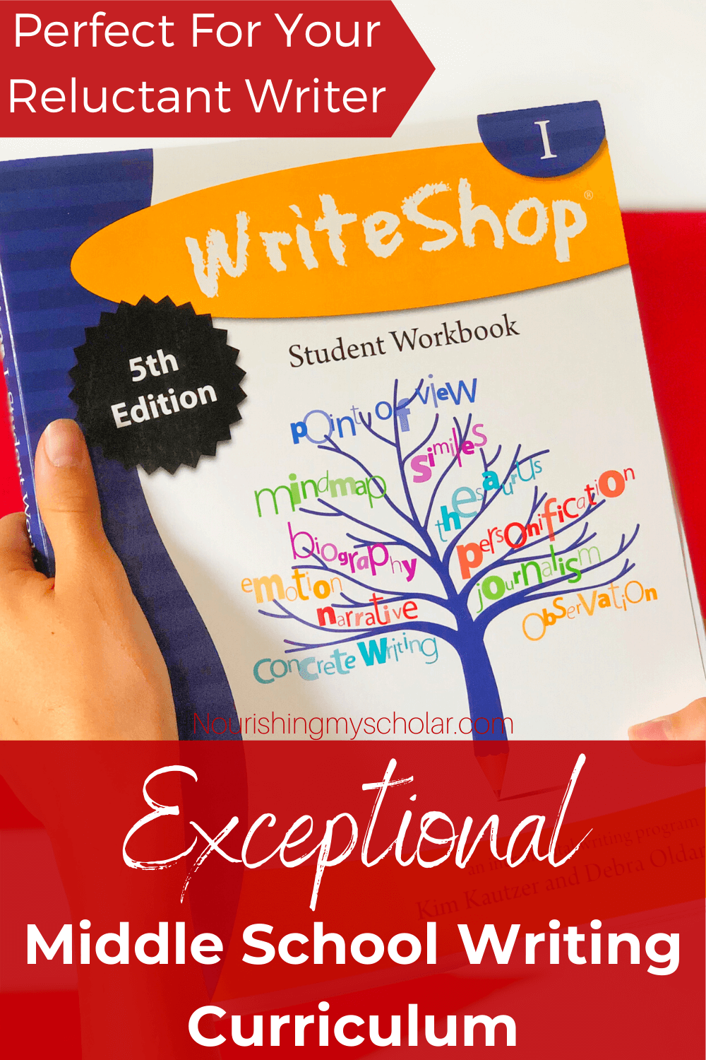 Exceptional Middle School Writing Curriculum: Are you looking for a middle school writing curriculum? Do you need something flexible, and gentle, yet thorough? Perhaps you have a reluctant writer or a young writer that has trouble putting their thoughts on paper. WriteShop takes the overwhelm out of the writing process. #homeschool #writingcurriculum #middleschoolwritingcurriculum #WriteShop #WriteShopI #reluctantwritercurriculum #gentlewritingcurriculum #onlinewritingcurriculum