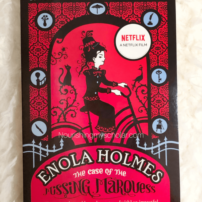 Enola Holmes Online Book Club for Kids