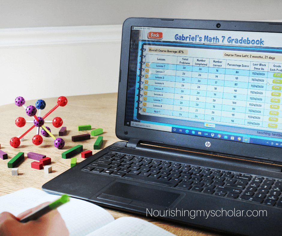 Homeschool Math made Easy with Teaching Textbooks