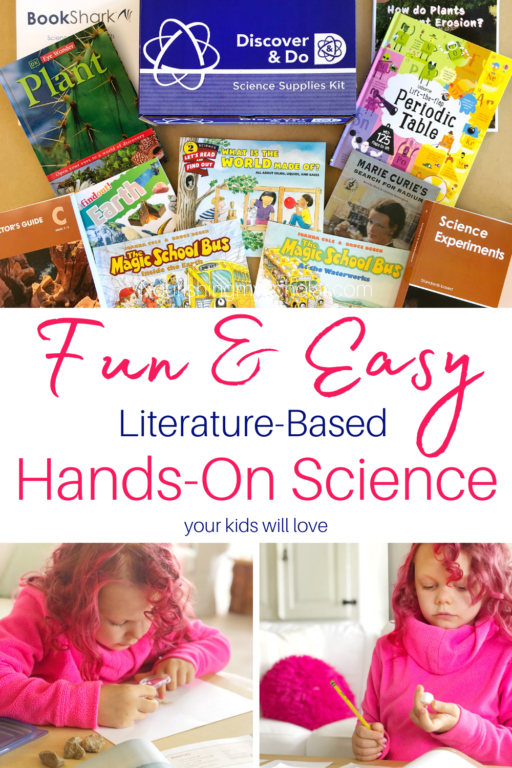 Fun and Easy Literature-Based Hands-On Science Your Kids Will Love: Hands-on experiments in an easy-to-use kit plus great literature make for the perfect homeschool science curriculum! #BookShark #BookSharkscience #handson #handsonsciencecurriculum #literaturebasedscience #science #scienceactivities #sciencecurriculum #scienceexperiments #sciencekit